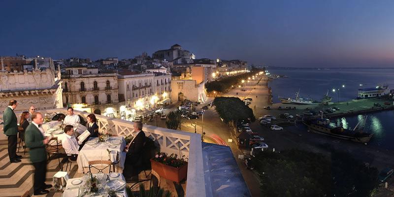 Albergo ristorante Grand Hotel Ortigia